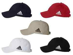 Image is loading Adidas-Unstructured-Cresting-Cap-Adjustable-Golf-Hat-low- b6d41bd15282