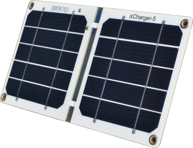 Suntactics S5 Solar Charger (5 Watts, ~1200mA) Slightly Blemished, USA
