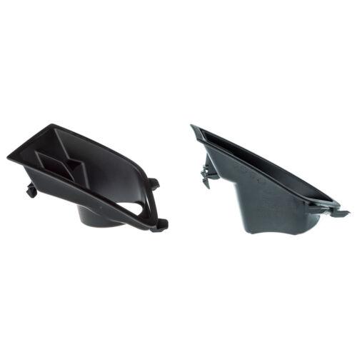 2010-2012 Ford Mustang Fog Light Lamp Bezel Right /& Left Black Housing Cover OEM
