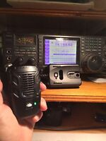W2eny Adapter Fits Uniden Bc906w Bluetooth Speaker Mic To Your Icom - Very Cool
