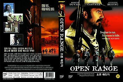 Open Range,2003 (DVD,All,Sealed,New) Kevin Costner, Robert Duvall