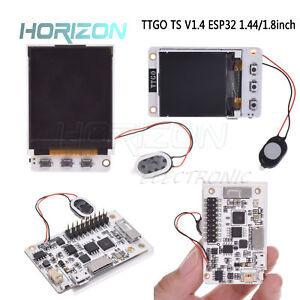 Details about TTGO TS V1 4 ESP32 1 44/1 8in TFT SD card slot MPU9250  Bluetooth WIFI Module
