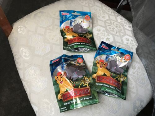 3 x THE LION GUARD SERIES 4 BLIND BAGS NEW SEALED