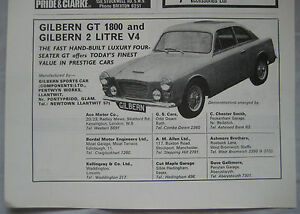 1965-Gilbern-GT-1800-amp-2-litre-V4-Original-advert-No-2