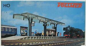 VOLLMER - 3534 B - Bahnsteig - Spur H0 - Eisenbahn Bahnhof Modellbausatz