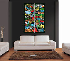 JOHN LENNON IMAGINE LYRICS Giant Wall Art Print Picture Poster