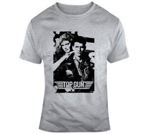 23e5d3a05 Top Gun Tom Cruise Usa Navy Movie 80s Fan T Shirt | eBay