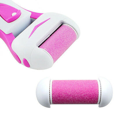 Electric Foot Dead/Dry Skin Remover Cuticle Callus Remover Grinding Roller Head