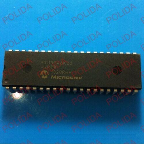 1PCS MCU IC Microchip DIP-40 PIC18F46K22-I//P PIC18F46K22-E//P PIC18F46K22
