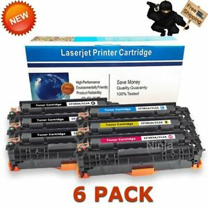 6PK-CF380A-312A-Toner-for-HP-Color-Laserjet-Pro-MFP-M476dn-M476dw-M476nw-Printer
