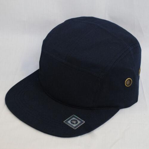 City Hunter 5 Five Panel Adjustable Strap Back Baseball Hat Cap