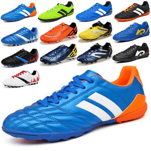 870dd39d151 Men Boys Soccer Cleats Shoes Football Indoor TF Sports Training ...