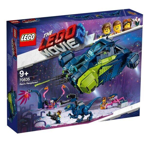 NEW LEGO LEGO MOVIE 2 Rex's Rexplorer  SET 70835  1000+ PIECES