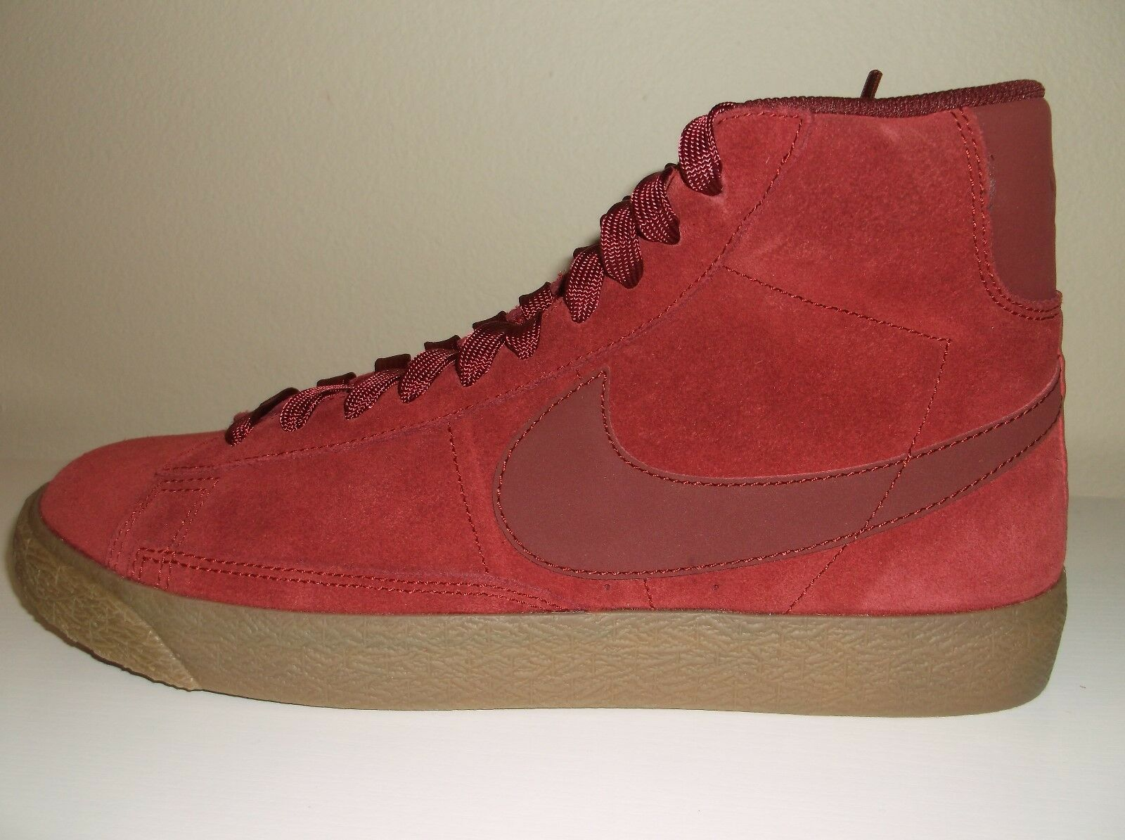 Nike Blazer Suede Sneakers Size Boys 7 New Free Shipping