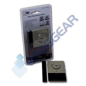 Minder Ultra Thin Window Door Magnetic Vibration Sensor