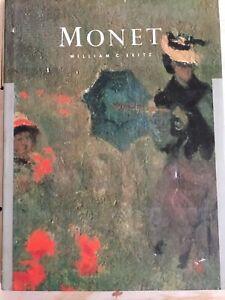 Monet-William-C-Seitz-1983-Hardcover-art-book-classic-painter