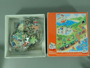 Puzzle-Werbepuzzle-Hong-Kong-2003-300-Piezas-en-Caja-de-Carton