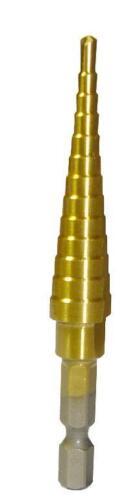 "Titanium 6 Step Drill Bit 3//16/"" to 1//2/"""