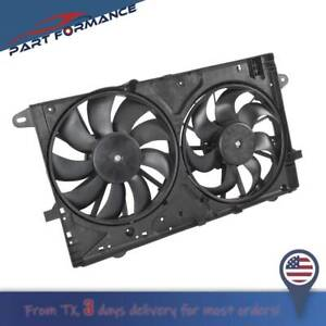 Radiator-A-C-AC-Condenser-Cooling-Fan-Assembly-for-Chevy-Malibu-IMPALA-BK-REGAL