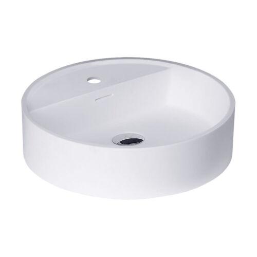 StoneArt Waschbecken LC148 weiß//45x45cm//matt