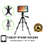 thumbnail 1 - iPad-Stand-For-7-10-034-Tablet-Adjustable-Floor-Mount-Tripod-Holder-Samsung-Huawei