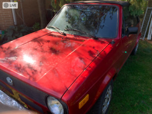 1984 Volkswagen Rabbit Black