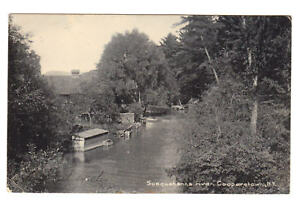 RPPC-Real-Photo-SUSQUEHANNA-RIVER-COOPERSTOWN-NY