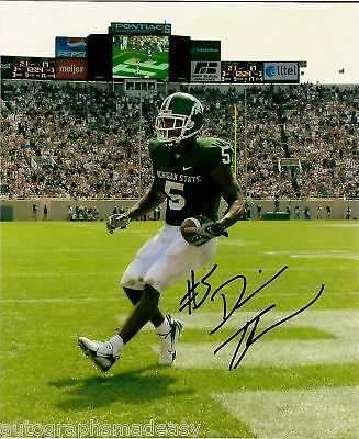 Devin Thomas Michigan State Signed 8x10 Photo College-ncaa Autographs-original