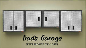 Sticker Dads Garage Wall Art Vinyl Decal