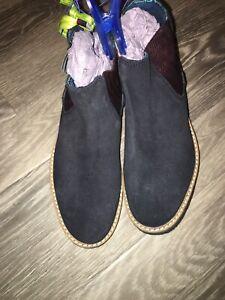 Boys Ted Baker Chelsea Boot Black UK 2