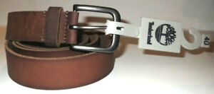 NEW-TIMBERLAND-GENUINE-LEATHER-VINTAGE-SLIGHT-DISTRESSED-STYL-MENS-JEANS-BELT-40