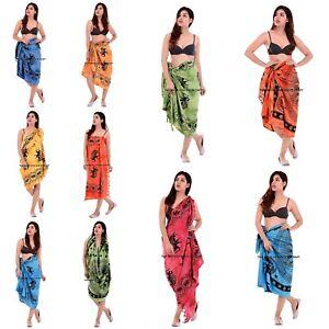 64ffc1e1b9ae1 Image is loading Indian-Cotton-Sarong-Scarf-Wrap-Beachwear-Long-Swimwear-