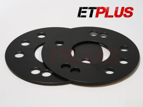 2 x 3mm Hubcentric Bore Alloy wheel spacers Fit Toyota Camry 60.1 5x114.3