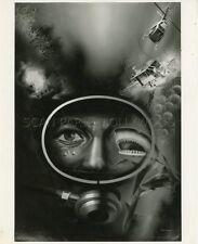 STEPHEN BOYD EVIL IN THE DEEP 1974 VINTAGE PHOTO ORIGINAL #4 ILLUSTRATION ART