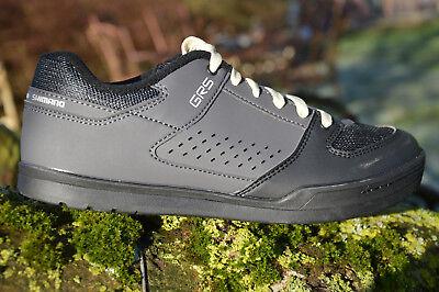 SHIMANO GR5 FLAT PEDAL Schuhe Fahrradschuhe MTB griffige Sohle schwarz GR500 | eBay