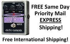 New Electro-Harmonix EHX Holy Grail Max Reverb Guitar Effect Pedal!