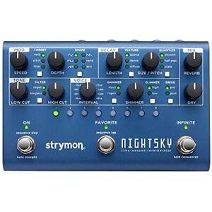 Strymon NIGHTSKY Time-Warped Reverberator w/ Tracking NEW