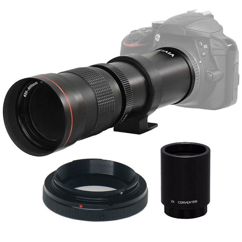 420-800mm F//8.3-16 Super Telephoto Lens Manual  for Canon EOS Cameras