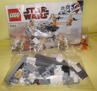 Rebel Troopers Battle Pack Lego Star Wars 8083 Unboxed