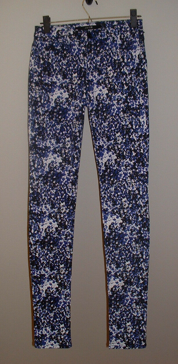 NWT JOE'S SKINNY ELECTRIC blueE POPART LOW RISE STRETCH JEANS NEW SIZE 26