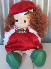"Precios Moments 18"" Doll Holiday Vinyl Head Soft Torso"