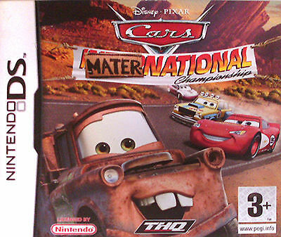 Cars: Mater-National Championship (Nintendo DS, 2007) GOOD COND FREE FAST PP