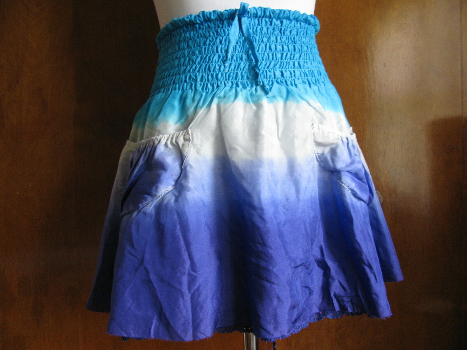 NWT Women's Buffalo Silk Lined Mini Skirt Size Medium