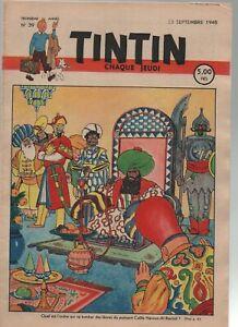 TINTIN n°39 du 23 septembre 1948 - édition belge - Couverture LAUDY - superbe