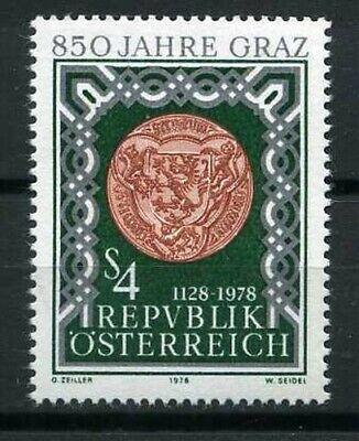 Ville De Graz New Skillful Manufacture 1978 Stamp 1411 Supply Austria