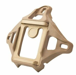 Low Profile 3-Hole Skeleton NVG Mount Shroud for ACH / MICH / Crye / Helmet