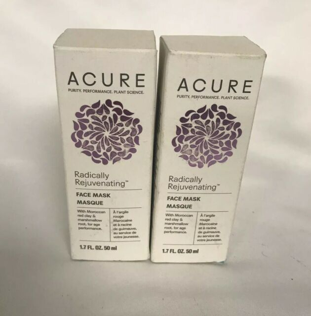 Acure Radically Rejuvenating Face Mask W. Maroccan Red