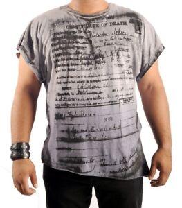 Lip-Service-Death-Certificate-Mens-T-Shirt-Oversize-Gothic-Shirt