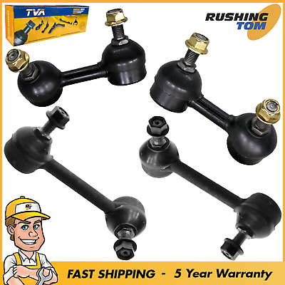 Front /& Rear Right+Left Side New 4Pc Sway Bar Links fits Honda Accord 3.0L V6