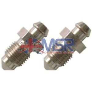 Brake-Caliper-Bleed-Screw-Nipple-M10-x-1-00mm-2-PACK